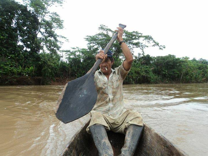 Sheyllaa photo of Man traveling on Amazon river in Peru