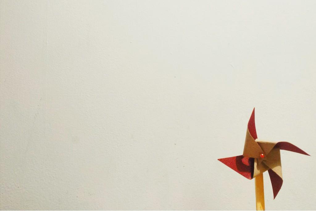 Danielle Sanson minimalist photo of a windmill