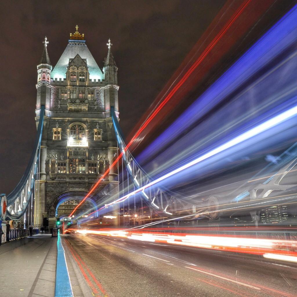 Michael Sparrow - London Bridge - long exposure mobile photography