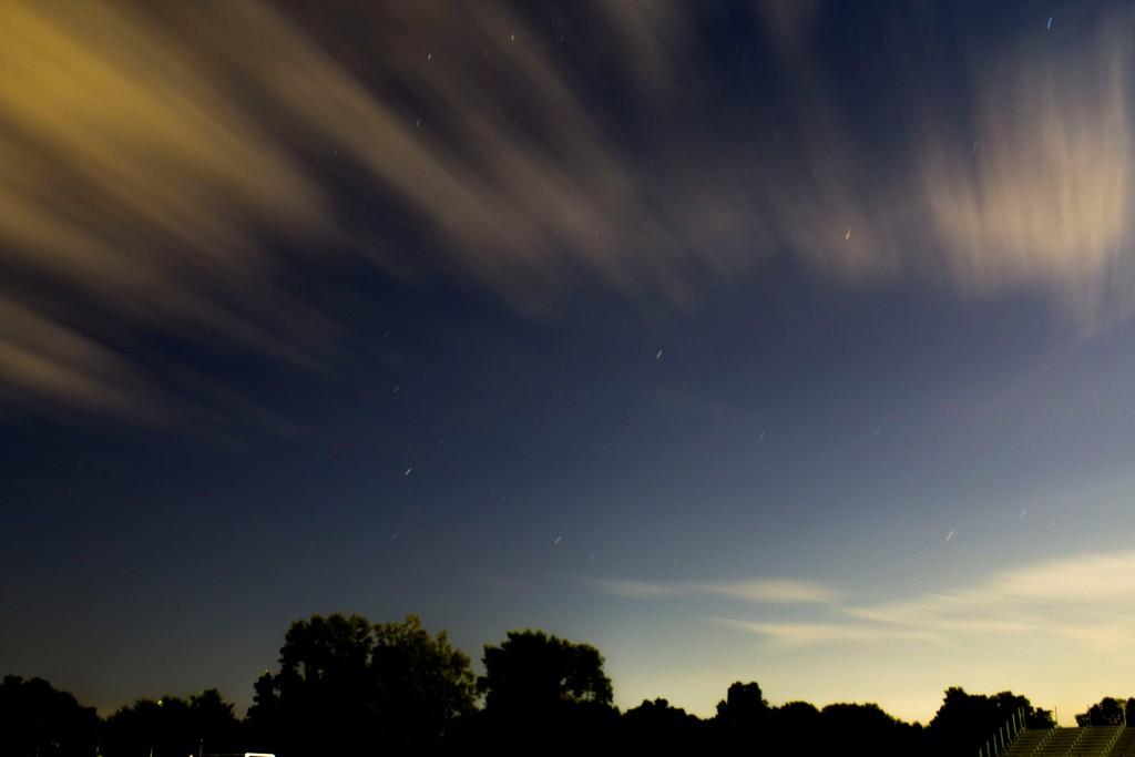 Wilder Quinn - long exposure photo of the sky